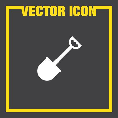 shovel: shovel vector icon
