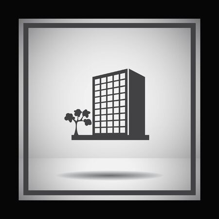 building: building vector icon