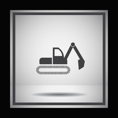 symbol vector: dredge symbol vector icon