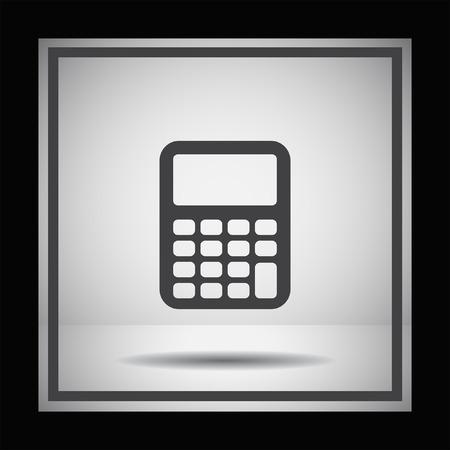 calculadora: icono de vectores calculadora