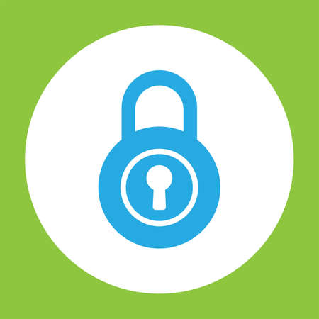lock: lock vector icon