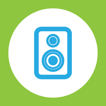 speaker: speaker vector icon Illustration