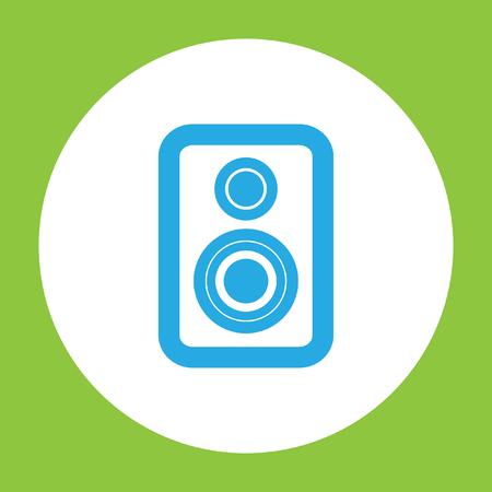 sound speaker: speaker vector icon Illustration