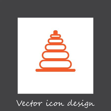 baby toy: baby toy vector icon Illustration