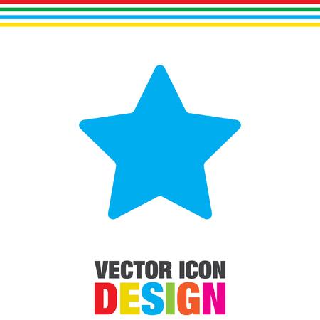 별: star vector icon