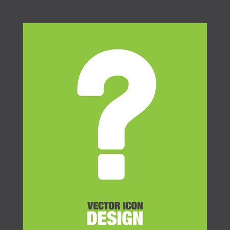 question: question mark vector icon
