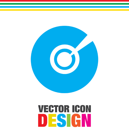 dvd: cd dvd vector icon