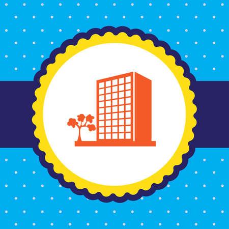 콘도: building vector icon