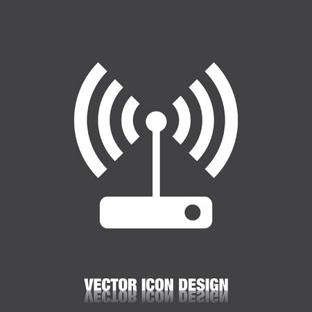 wi: wi fi vector icon