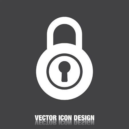 unlocking: lock vector icon
