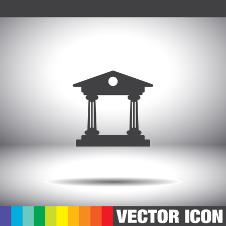 Institution vector icon