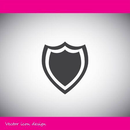 escudo: icono de vectores escudo Vectores