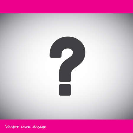 questions: question mark vector icon