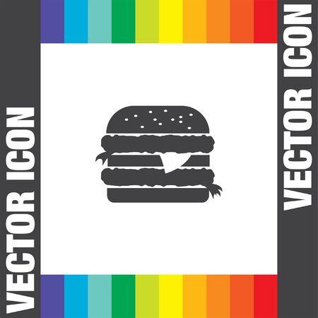 hamburger: hamburger vector icon
