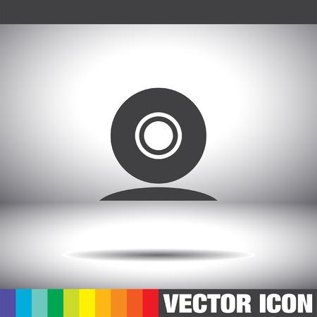 cam: web cam vector icon