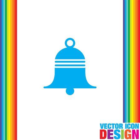 handbell: bell vector icon
