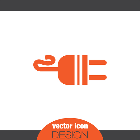 socket adapters: electric ac power plug vector icon
