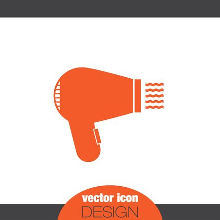 hairdryer vector icon Illustration