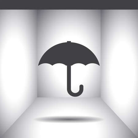 meteorology: weather umbrella vector icon
