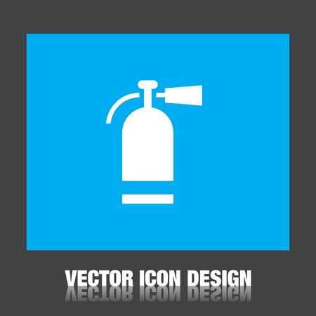 extinguisher: fire extinguisher vector icon