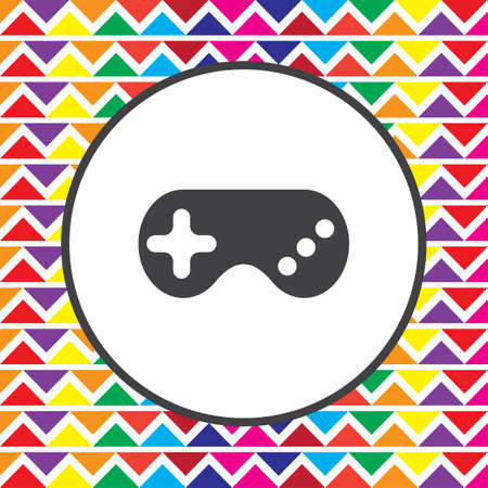 controller: game controller gamepad icon Illustration