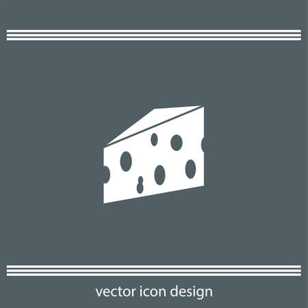 porous: cheese icon Illustration