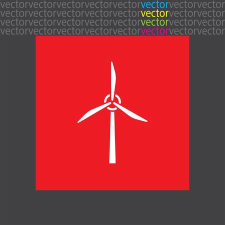 wind generator icon Illustration