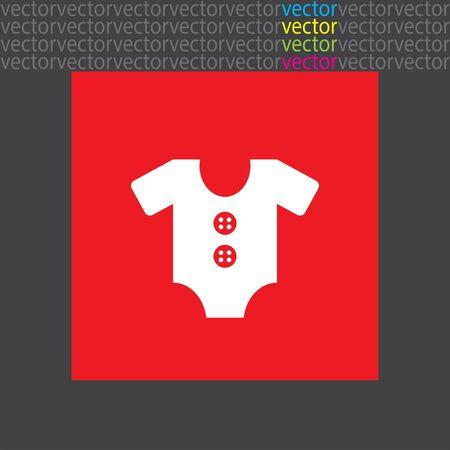 ropa de beb�: baby clothes icon