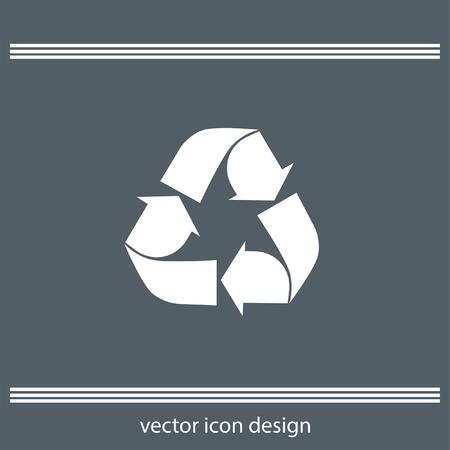 raccolta differenziata: riciclare icona