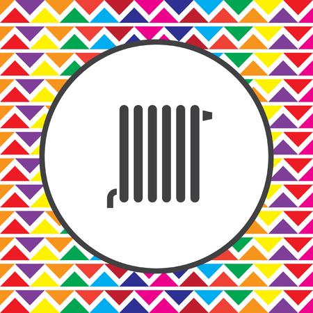 radiator: radiator icon