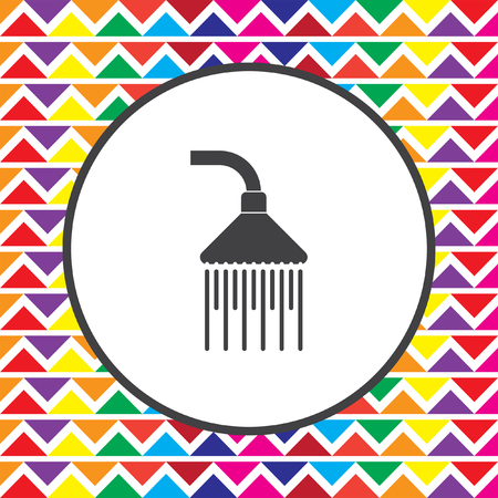 cleanliness: shower icon