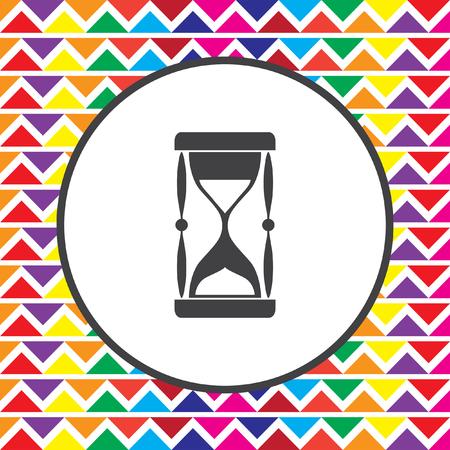 piasek: sand clock icon