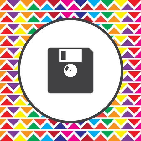diskette: diskette icon