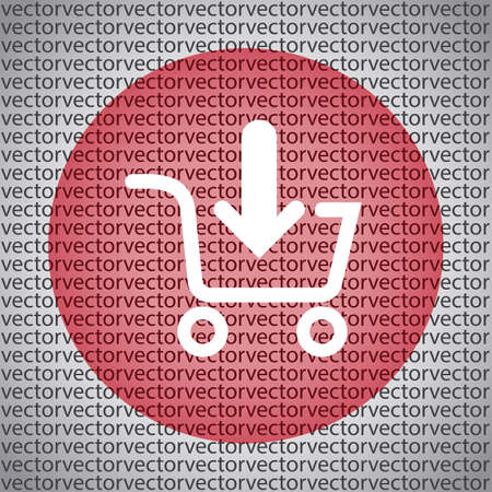 shopping cart icon: add to shopping cart icon Illustration