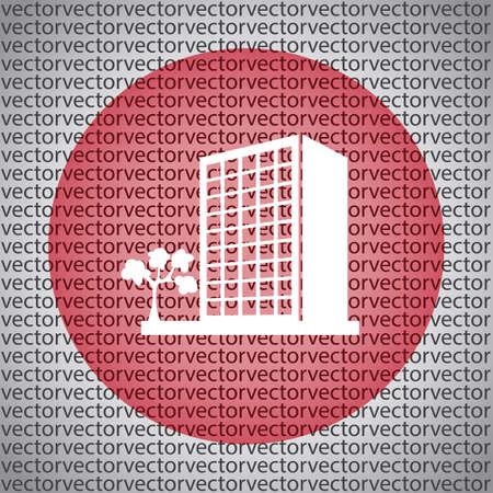 콘도: building icon 일러스트