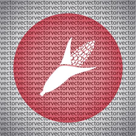 maize cultivation: corn icon Illustration