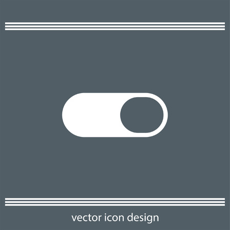on and off: toggle on off icon