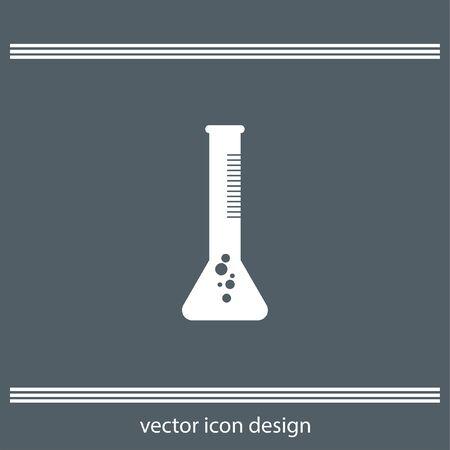 tube: laboratory test tube icon