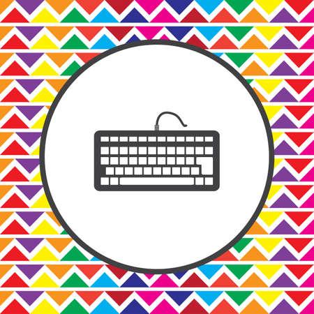 keyboard: keyboard icon