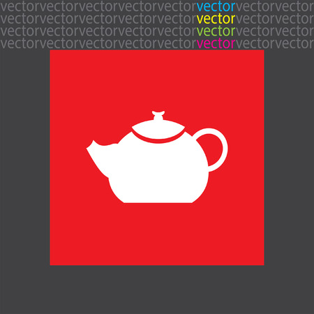 creamer: teapot icon Illustration