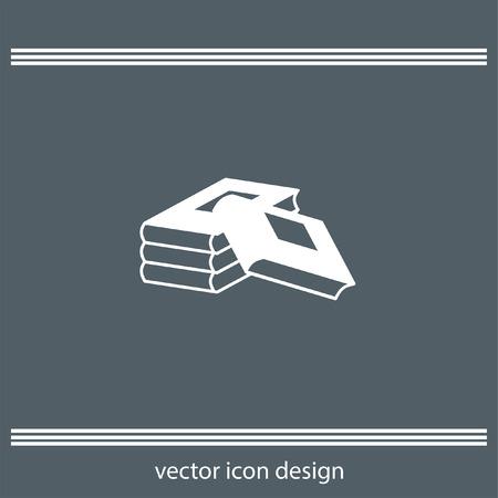 encyclopedias: books icon Illustration