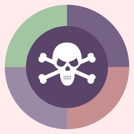 skull vector: skull vector icon