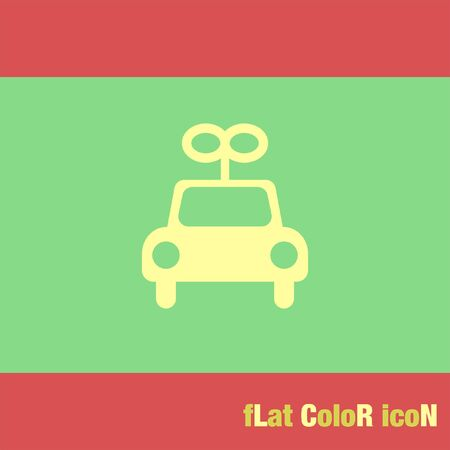 car: toy car vector icon Illustration