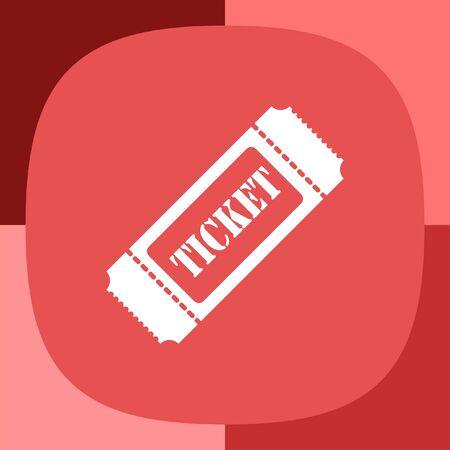 biglietto: biglietto vector icon