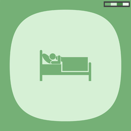 motel: bed hotel motel icon