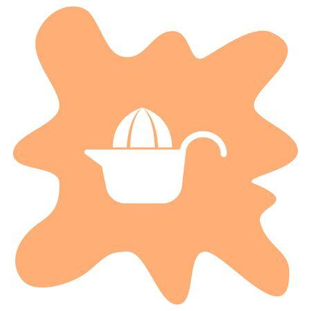 citrus: citrus squeezer icon Illustration