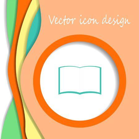 encyclopedias: book vector icon