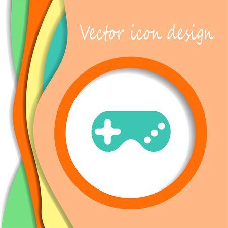 gamepad: game controller gamepad vector icon