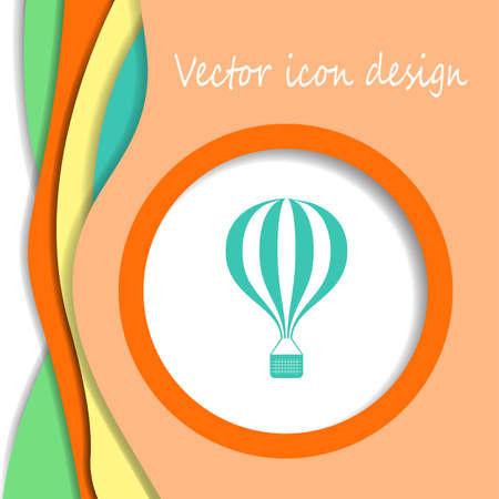 transportation icon: airplane vector icon logo Illustration