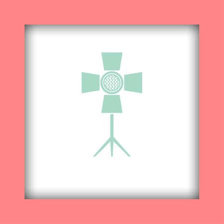 spotlight: spotlight vector icon